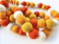 Shades of Orange Garland