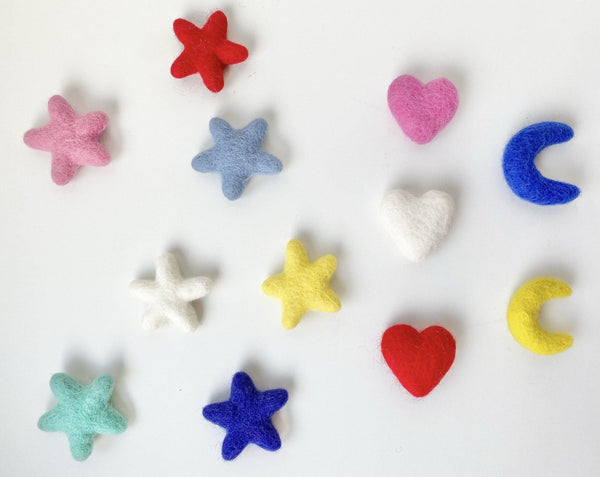Hearts, Moons or Stars