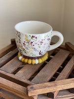 Yellow Trivet &/or Coaster - Redheadnblue