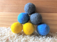 Medium Solid Wool Cat Toys