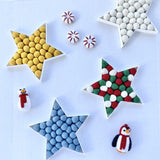 Felt Ball Christmas Star