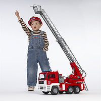 Fire Engine with Ladder, Water Pump, and Lights and Sounds Module