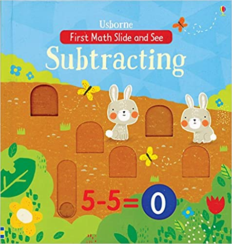 First Math Slide and See: Subtracting