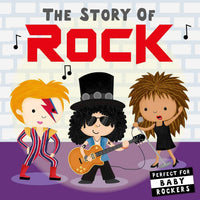 The Story of Rock Board Book