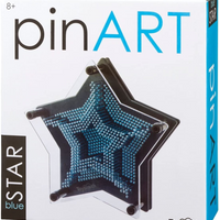 Pin Art Blue Star
