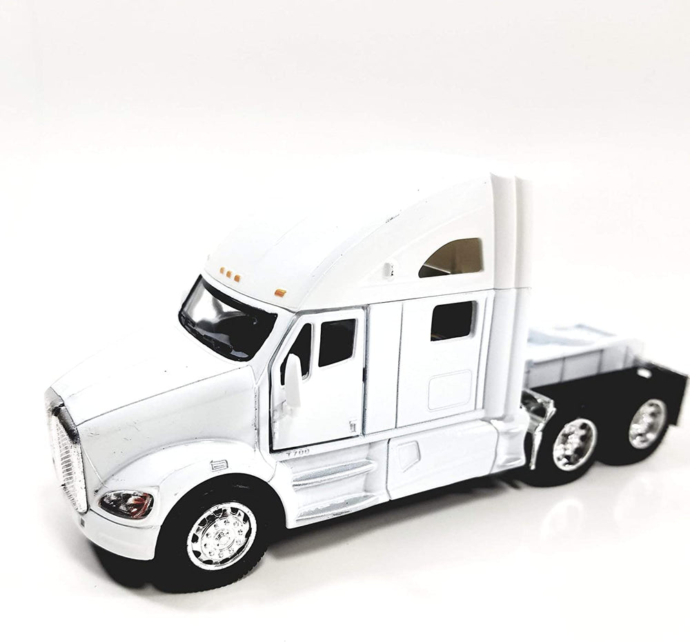 Die Cast Kenworth T700 Pull Back Sleeper Truck