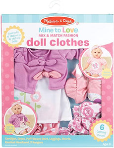 Mine to Love Doll Clothes Set