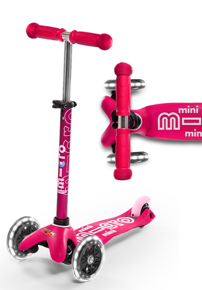 Micro Scooter Mini Deluxe - Pink