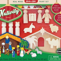 Nativity Paint Set