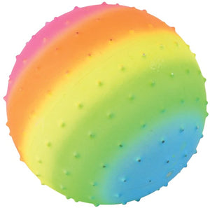 Rainbow Knobby Ball- 4 Sizes