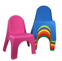 Stacking Chairs- 4 Colors to choose from!