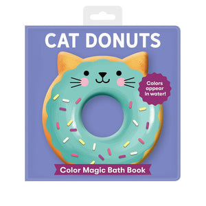 Cat Donuts Color Magic Bath Book