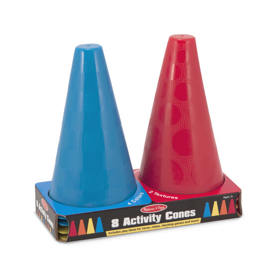 8-Pack Activity Cones