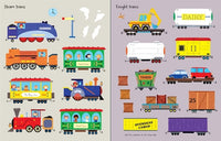 My First Sticker Book-Trains