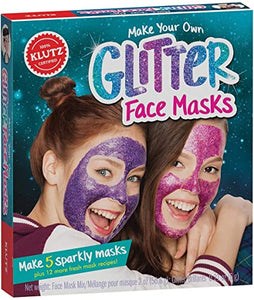 Make Your Own Glitter Face Masks