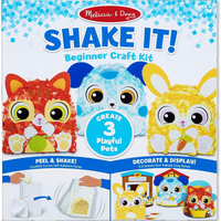 Shake It Beginner Crafts- 2 styles to choose from!