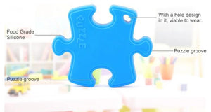 Puzzle Piece Sensory Teether