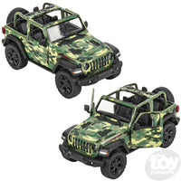 "5"" Jeep Wrangler Camo Open Top"
