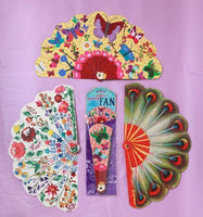 Beautiful Paper Fans-2 Styles to choose from!
