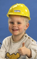 Bruder Yellow Kids Construction Helmets