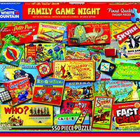 Family Game Night 550Pc Puzzle