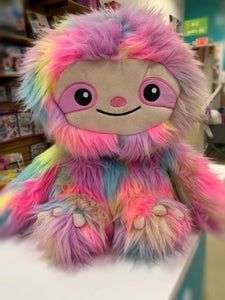 Tie Dye Stuffed Sloth