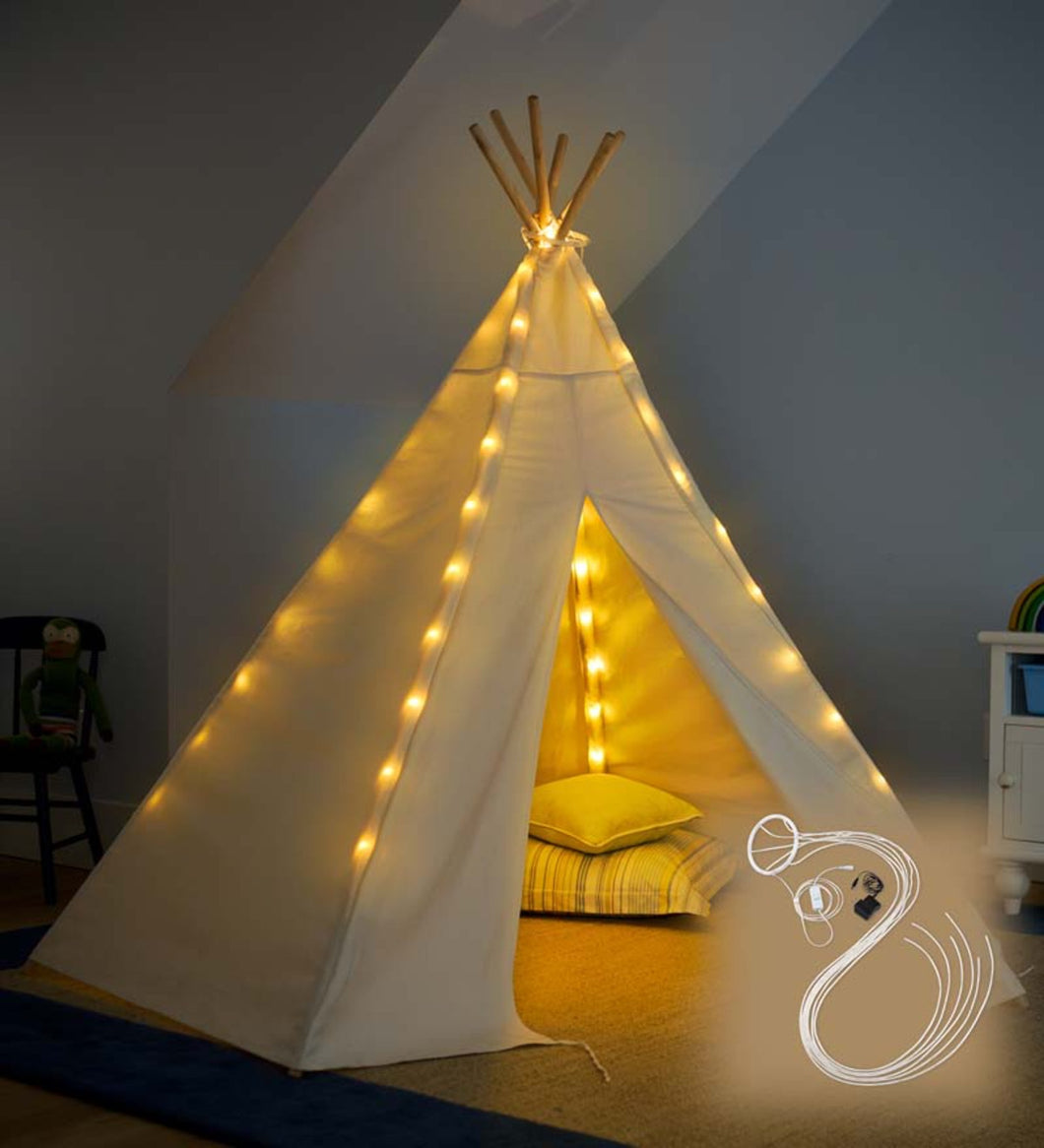 7 Foot TeePee with Lights included