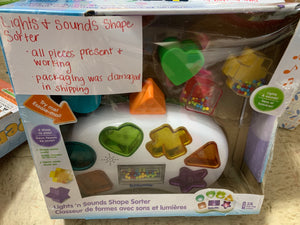 Lights and Sounds Shape Sorter DEMO