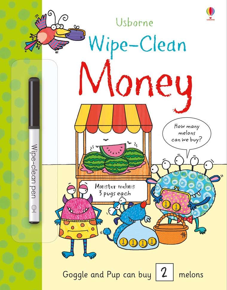 Money Wipe Clean Workbook