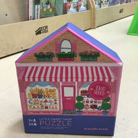 Two Sided Little Sweet Shop 24 Piece Puzzle