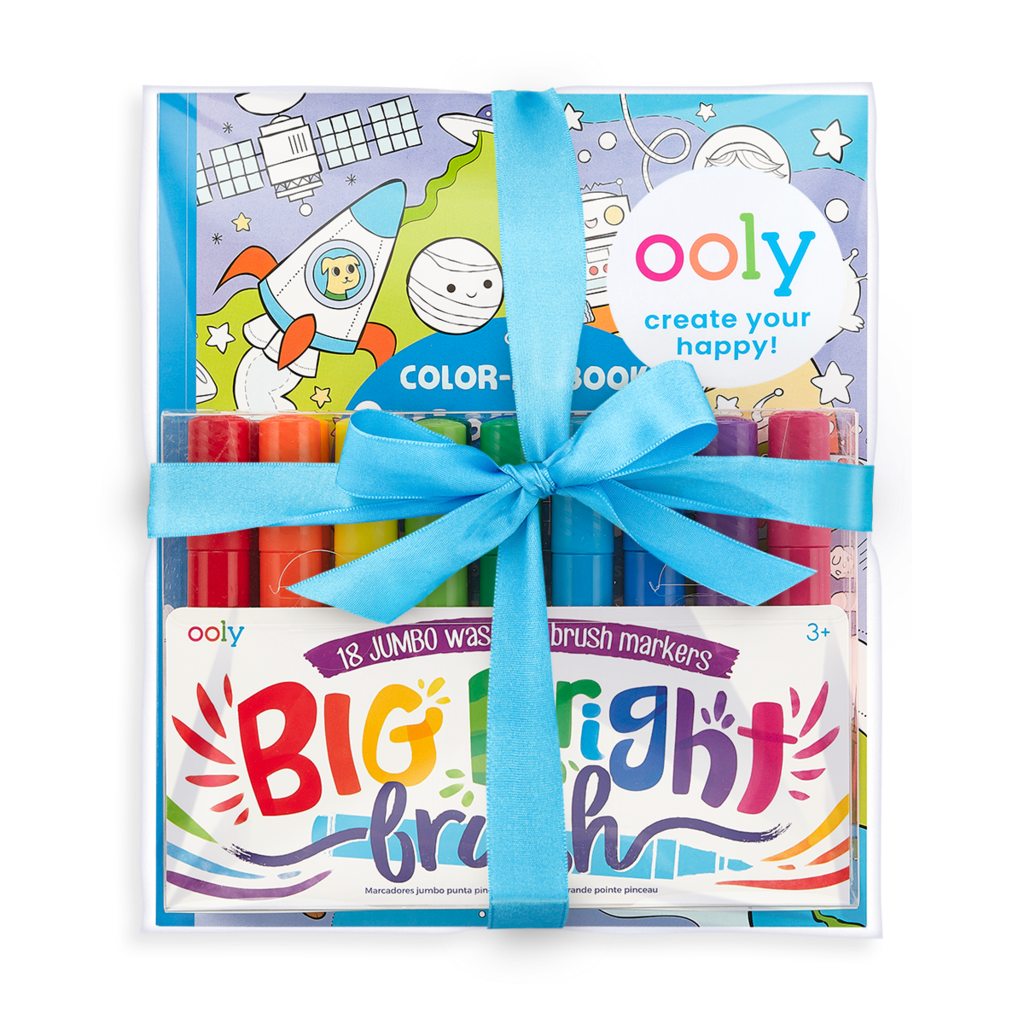 Outer Space Coloring Gift Set