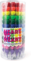 Heart to Heart Stacking Crayons