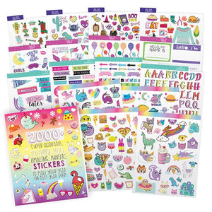 2000+ Amazing, Terrific Sticker Book