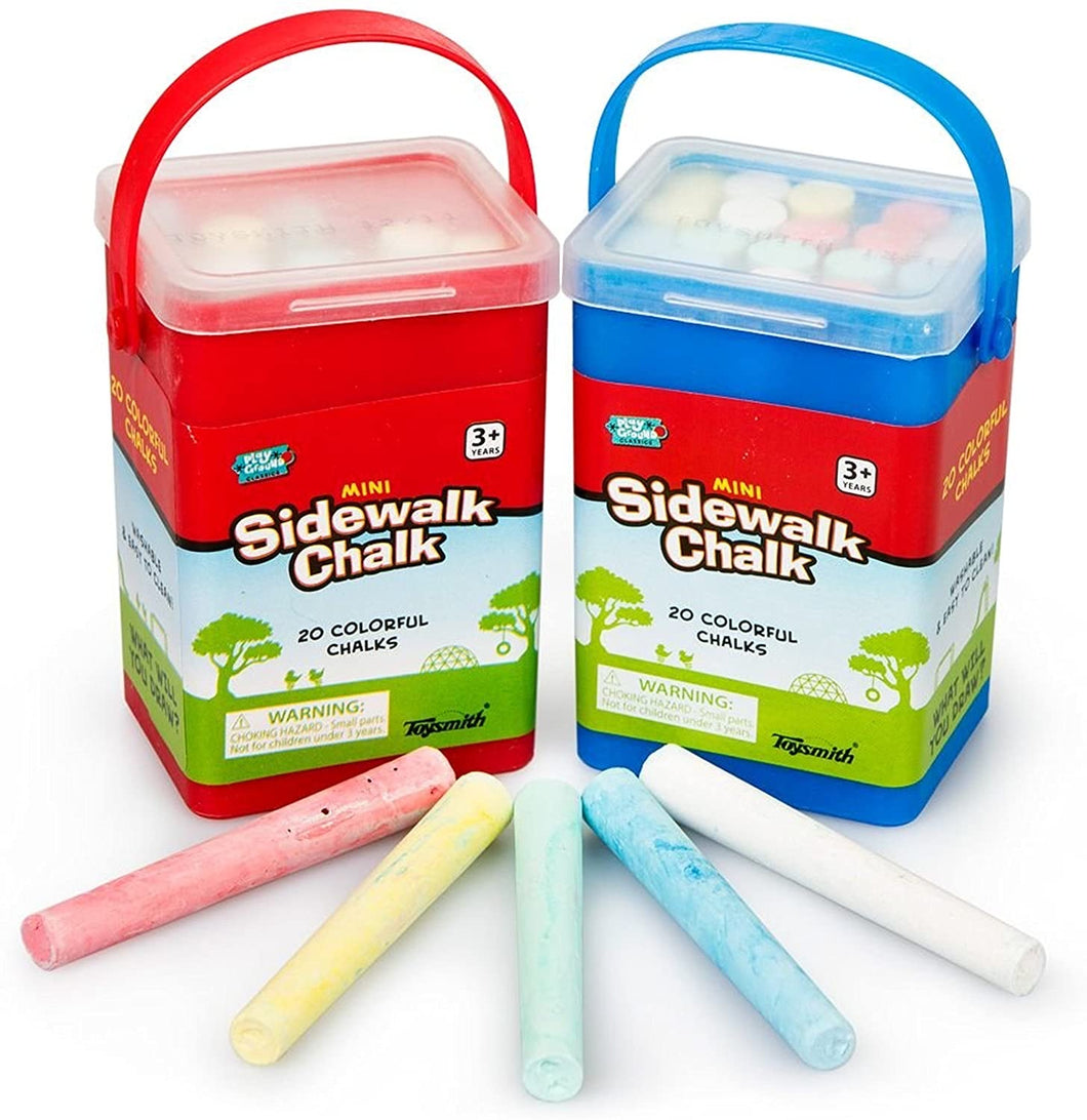 Mini Box of Sidewalk Chalk