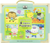 4 Puzzles in 1 Box-Playday