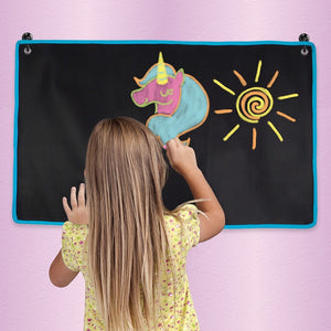 Chalkboard Mat with Chalk