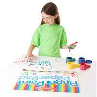 Ready to Paint Finger Painting Bundle