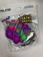 Mini Pocket Size Tie Dye Crazy Snaps- 31 styles to choose from!