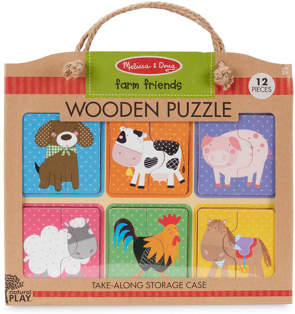Farm Friends Wooden Puzzle