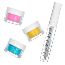 Load image into Gallery viewer, Unicorn Snot Holographic Lip Glitter Kit