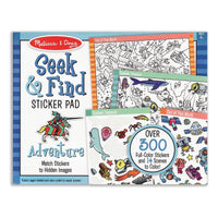 Seek & Find Sticker Pad Adventure
