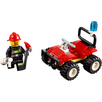 LEGO City Fire ATV Mini Set