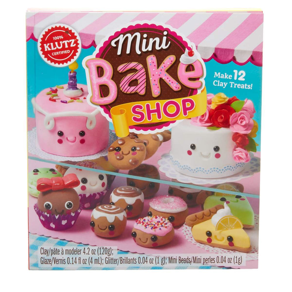 Mini Bake Shop DIY Clay Kit