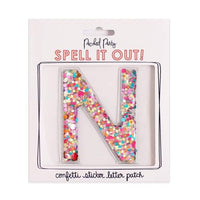 Confetti Letters for Personalizing