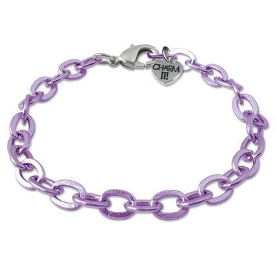 Purple Charm it! Bracelet