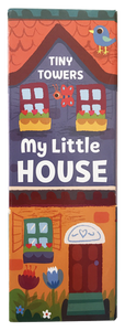 Tiny Towers, My Little House Baby Book Set