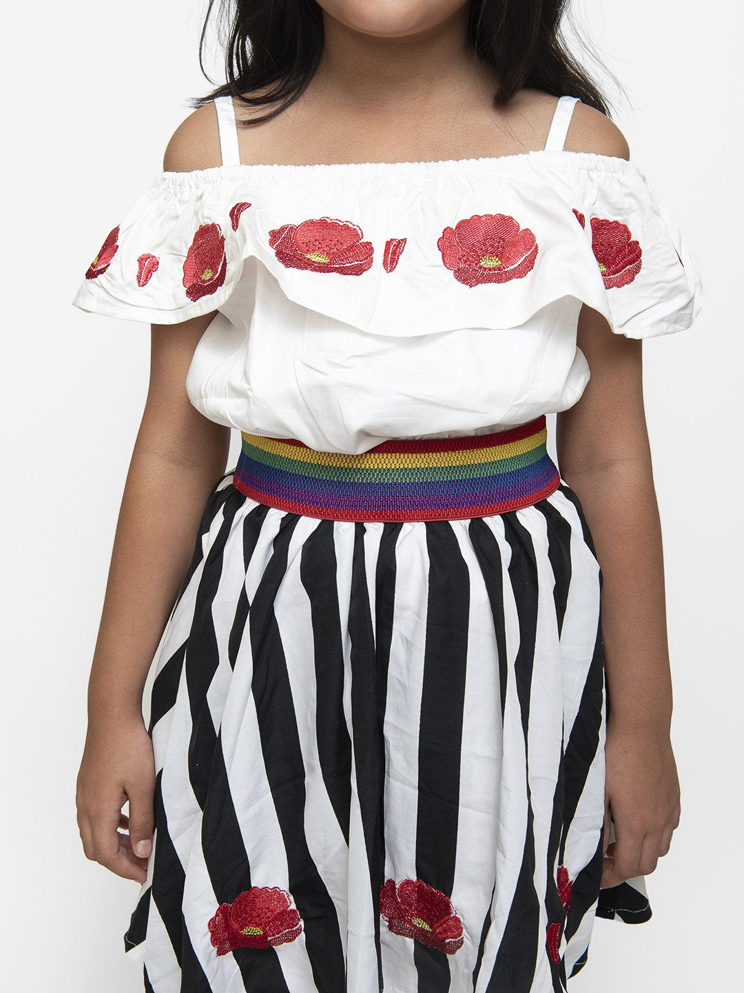 Peonies Skirt and Top Set