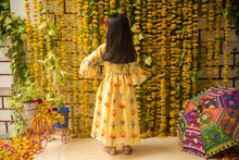 Load image into Gallery viewer, Fairies Forever Yellow Festive Special Tunic for Kids