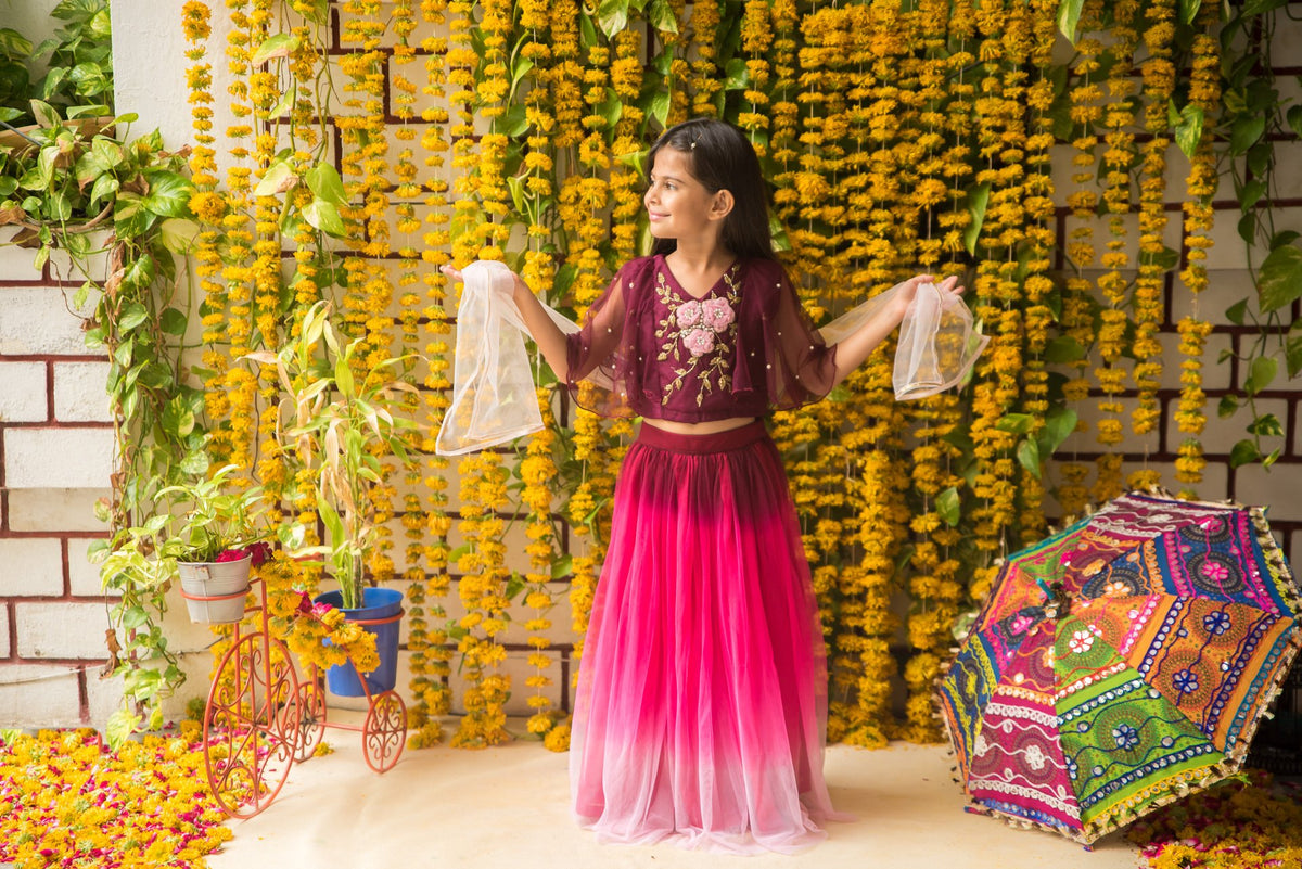 Fairies Forever Multi layeredh and work Lehenga Choli