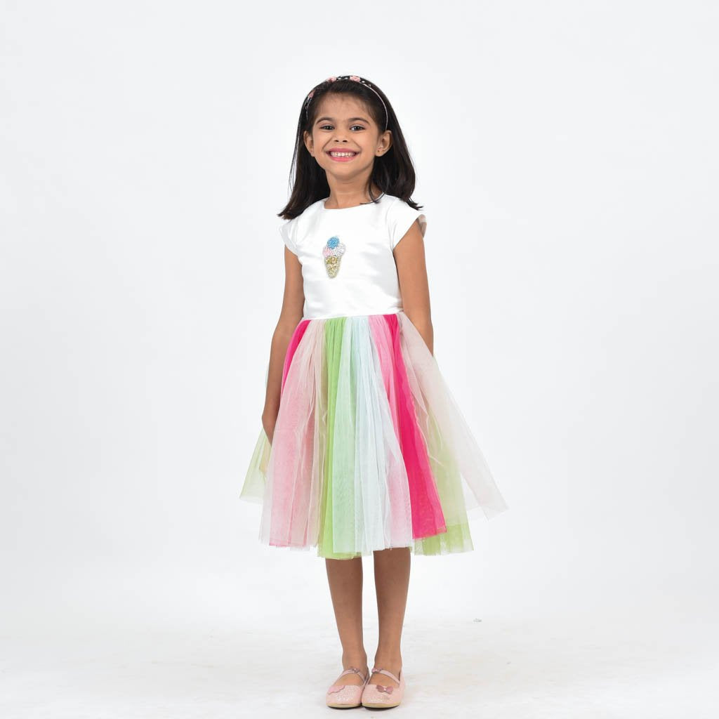 Colors of Popsicles Dress